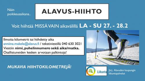 Alavus-hiihto la-su 27.-28.2.2021
