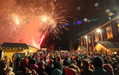 Tuurin Kyläkaupan joulunavausta juhlitaan näyttävästi lauantaina 7.11.2020 klo 14-18 välisenä aikana
