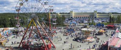 Maailman suurin lapsille ilmainen huvipuisto kieputtaa kävijöitä jälleen Tuurissa 25.6.-15.8.2021.